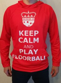 Худи Keep Clam&Play Floorball