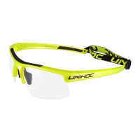 Очки UNIHOC Energy junior lime yellow/black