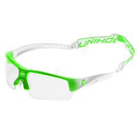 Очки UNIHOC Victory junior neon green/white